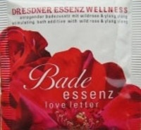 DRESDNER Essenz love letter Wellness Bad