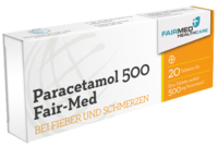PARACETAMOL 500 Fair Med Tabletten
