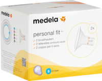 MEDELA Personal Fit Brusthaube Gr.S 2 St