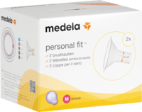 MEDELA Personal Fit Brusthaube Gr.M 2 St