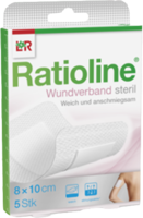 RATIOLINE Wundverband 8x10 cm steril